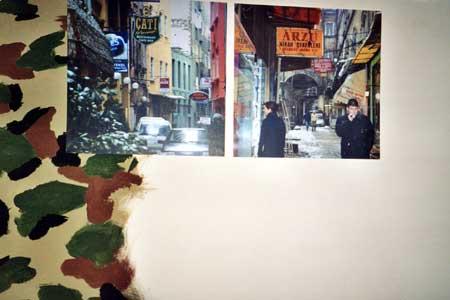 Fondation ren d 39 azur for Peinture murale argentee