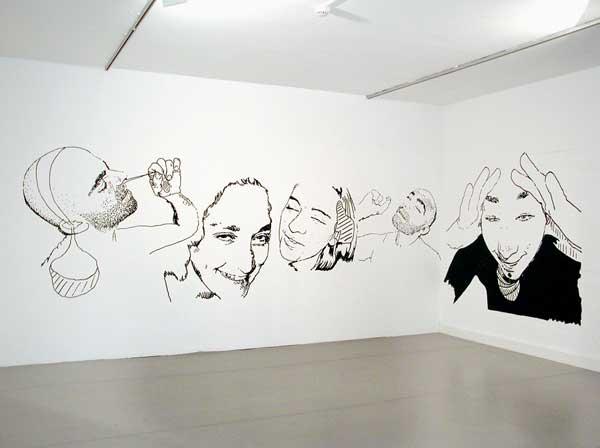 G raldine pastor lloret documents d 39 artistes paca for Dessin mural